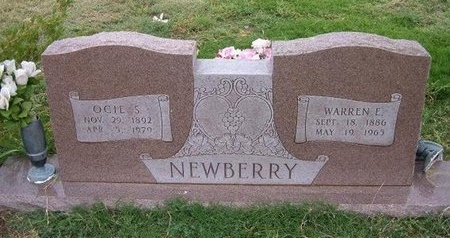 NEWBERRY, WARREN - Baca County, Colorado | WARREN NEWBERRY - Colorado Gravestone Photos