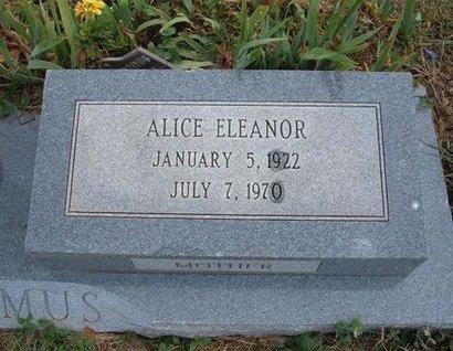 SILVEY NICODEMUS, ALICE ELEANOR - Baca County, Colorado | ALICE ELEANOR SILVEY NICODEMUS - Colorado Gravestone Photos