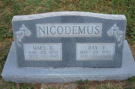 HUFFORD NICODEMUS, MARY E - Baca County, Colorado | MARY E HUFFORD NICODEMUS - Colorado Gravestone Photos