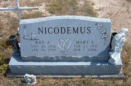 BRUCE NICODEMUS, MARY LOUISE - Baca County, Colorado | MARY LOUISE BRUCE NICODEMUS - Colorado Gravestone Photos