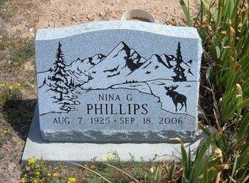 PHILLIPS, NINA G - Baca County, Colorado | NINA G PHILLIPS - Colorado Gravestone Photos