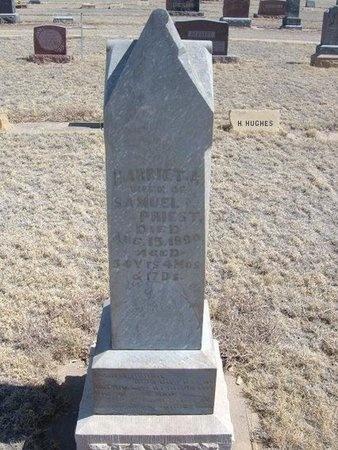 BROWN PRIEST, HARRIET A - Baca County, Colorado | HARRIET A BROWN PRIEST - Colorado Gravestone Photos