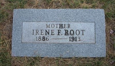 ROOT, IRENE F - Baca County, Colorado | IRENE F ROOT - Colorado Gravestone Photos