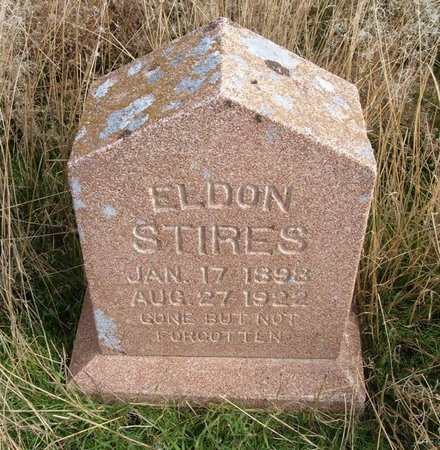 STIRES, ELDON - Baca County, Colorado | ELDON STIRES - Colorado Gravestone Photos