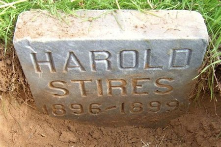STIRES, HAROLD - Baca County, Colorado | HAROLD STIRES - Colorado Gravestone Photos