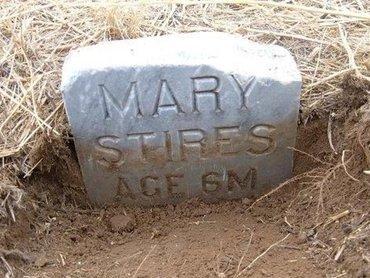 STIRES, MARY - Baca County, Colorado   MARY STIRES - Colorado Gravestone Photos