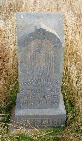 STREETER, CORYDON B - Baca County, Colorado   CORYDON B STREETER - Colorado Gravestone Photos