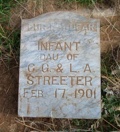 STREETER, INFANT DAUGHTER - Baca County, Colorado | INFANT DAUGHTER STREETER - Colorado Gravestone Photos