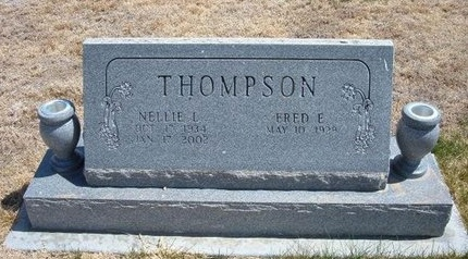 ACRE THOMPSON, NELLIE L - Baca County, Colorado | NELLIE L ACRE THOMPSON - Colorado Gravestone Photos