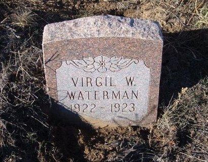 WATERMAN, VIRGIL W - Baca County, Colorado | VIRGIL W WATERMAN - Colorado Gravestone Photos