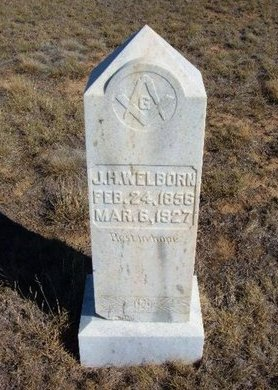 WELLBORN, J H - Baca County, Colorado | J H WELLBORN - Colorado Gravestone Photos