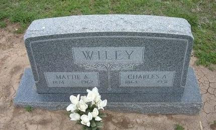 ALCORN WILEY, MATTIE A - Baca County, Colorado | MATTIE A ALCORN WILEY - Colorado Gravestone Photos
