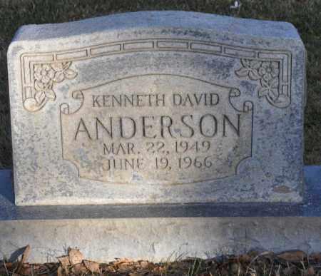 ANDERSON, KENNETH DAVID - Bent County, Colorado | KENNETH DAVID ANDERSON - Colorado Gravestone Photos