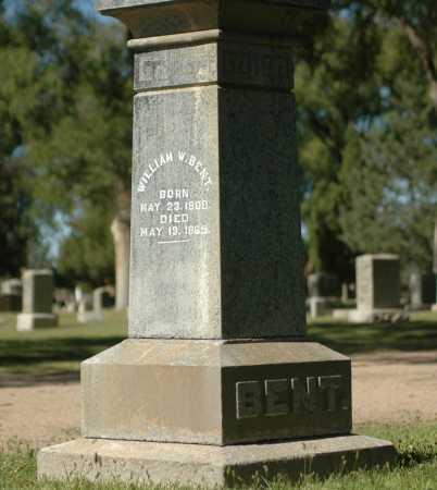 BENT, WILLIAM W. - Bent County, Colorado   WILLIAM W. BENT - Colorado Gravestone Photos
