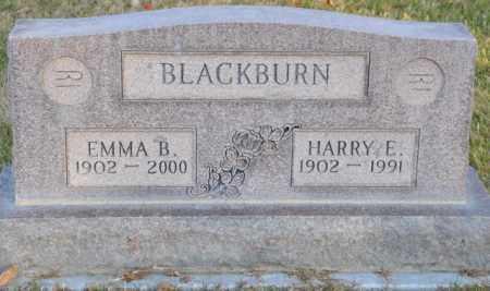 BLACKBURN, EMMA B. - Bent County, Colorado | EMMA B. BLACKBURN - Colorado Gravestone Photos