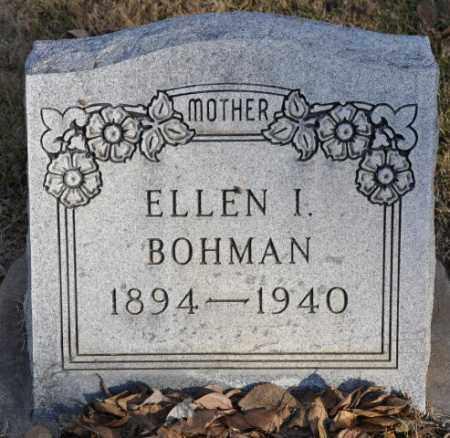 BOHMAN, ELLEN I. - Bent County, Colorado | ELLEN I. BOHMAN - Colorado Gravestone Photos
