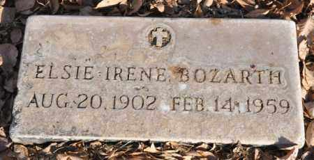 BOZARTH, ELSIE IRENE - Bent County, Colorado | ELSIE IRENE BOZARTH - Colorado Gravestone Photos