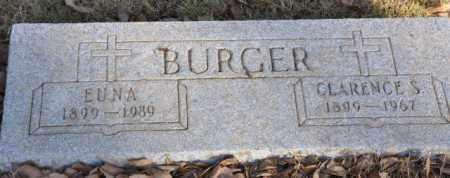 BURGER, EUNA - Bent County, Colorado | EUNA BURGER - Colorado Gravestone Photos