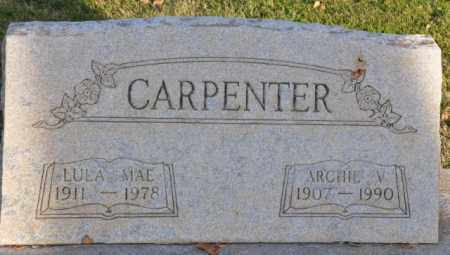 CARPENTER, LULA MAE - Bent County, Colorado | LULA MAE CARPENTER - Colorado Gravestone Photos
