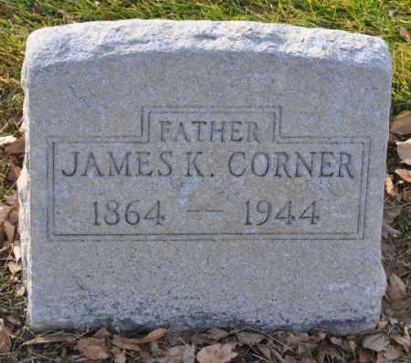 CORNER, JAMES K. - Bent County, Colorado | JAMES K. CORNER - Colorado Gravestone Photos