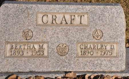 CRAFT, BERTHA M. - Bent County, Colorado | BERTHA M. CRAFT - Colorado Gravestone Photos