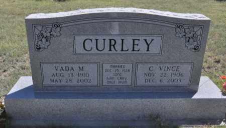 CURLEY, VADA M - Bent County, Colorado | VADA M CURLEY - Colorado Gravestone Photos