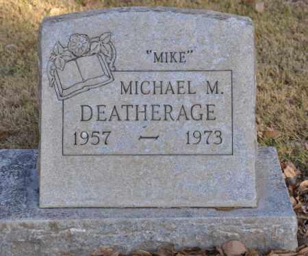 DEATHERAGE, MICHAEL M. - Bent County, Colorado | MICHAEL M. DEATHERAGE - Colorado Gravestone Photos