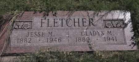 FLETCHER, JESSE M - Bent County, Colorado | JESSE M FLETCHER - Colorado Gravestone Photos