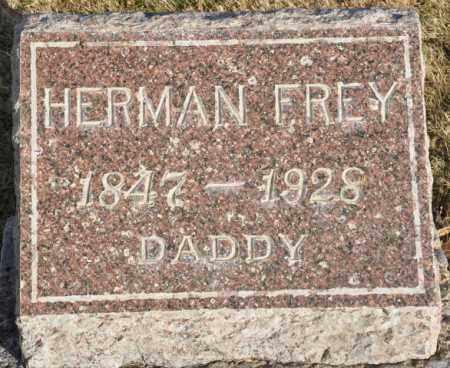 FREY, HERMAN - Bent County, Colorado | HERMAN FREY - Colorado Gravestone Photos