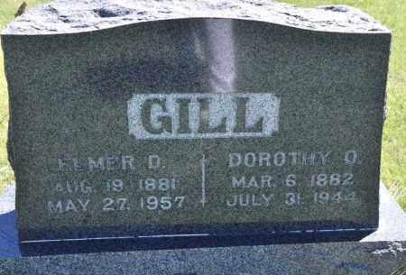 GILL, ELMER D - Bent County, Colorado | ELMER D GILL - Colorado Gravestone Photos