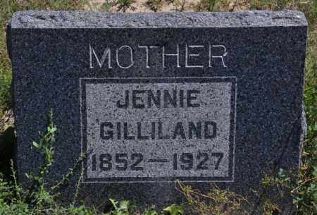 GILLILAND, JENNIE - Bent County, Colorado | JENNIE GILLILAND - Colorado Gravestone Photos