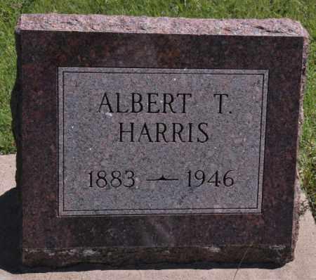 HARRIS, ALBERT T - Bent County, Colorado | ALBERT T HARRIS - Colorado Gravestone Photos