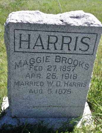 HARRIS, MAGGIE BROOKS - Bent County, Colorado | MAGGIE BROOKS HARRIS - Colorado Gravestone Photos