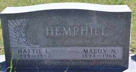 HEMPHILL, MALOY N - Bent County, Colorado | MALOY N HEMPHILL - Colorado Gravestone Photos