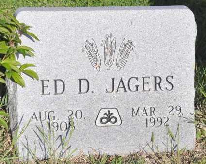 JAGERS, ED D. - Bent County, Colorado | ED D. JAGERS - Colorado Gravestone Photos