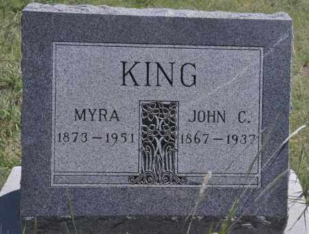 KING, JOHN C - Bent County, Colorado | JOHN C KING - Colorado Gravestone Photos