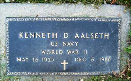 AALSETH, KENNETH D. - Boulder County, Colorado | KENNETH D. AALSETH - Colorado Gravestone Photos