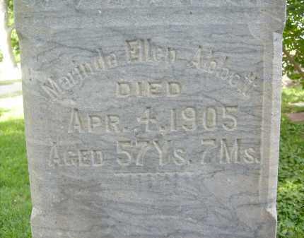 ABBOTT, MARINDA ELLEN - Boulder County, Colorado | MARINDA ELLEN ABBOTT - Colorado Gravestone Photos
