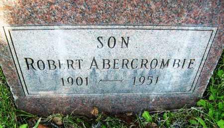 ABERCROMBIE, ROBERT - Boulder County, Colorado | ROBERT ABERCROMBIE - Colorado Gravestone Photos