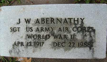 ABERNATHY, J.W. - Boulder County, Colorado | J.W. ABERNATHY - Colorado Gravestone Photos