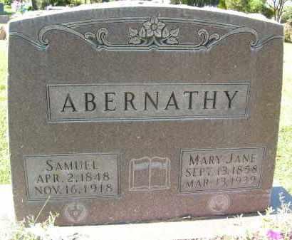 ABERNATHY, MARY JANE - Boulder County, Colorado   MARY JANE ABERNATHY - Colorado Gravestone Photos