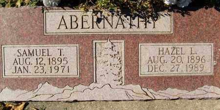 ABERNATHY, SAMUEL T. - Boulder County, Colorado | SAMUEL T. ABERNATHY - Colorado Gravestone Photos