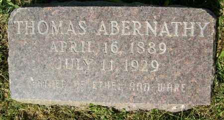 ABERNATHY, THOMAS - Boulder County, Colorado | THOMAS ABERNATHY - Colorado Gravestone Photos