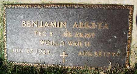 ABEYTA, BENJAMIN - Boulder County, Colorado | BENJAMIN ABEYTA - Colorado Gravestone Photos