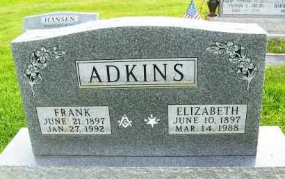 ADKINS, FRANK - Boulder County, Colorado | FRANK ADKINS - Colorado Gravestone Photos