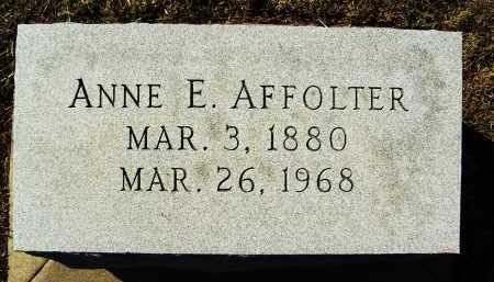 AFFOLTER, ANNE E. - Boulder County, Colorado | ANNE E. AFFOLTER - Colorado Gravestone Photos