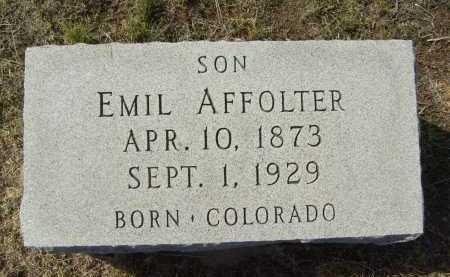 AFFOLTER, EMIL - Boulder County, Colorado | EMIL AFFOLTER - Colorado Gravestone Photos