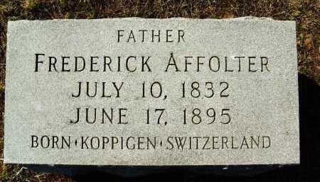 AFFOLTER, FREDERICK - Boulder County, Colorado | FREDERICK AFFOLTER - Colorado Gravestone Photos