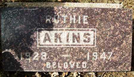 AKINS, RUTHIE - Boulder County, Colorado | RUTHIE AKINS - Colorado Gravestone Photos