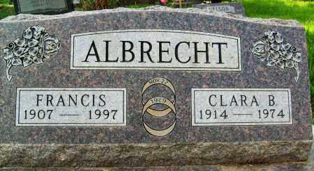 ALBRECHT, CLARA B. - Boulder County, Colorado | CLARA B. ALBRECHT - Colorado Gravestone Photos